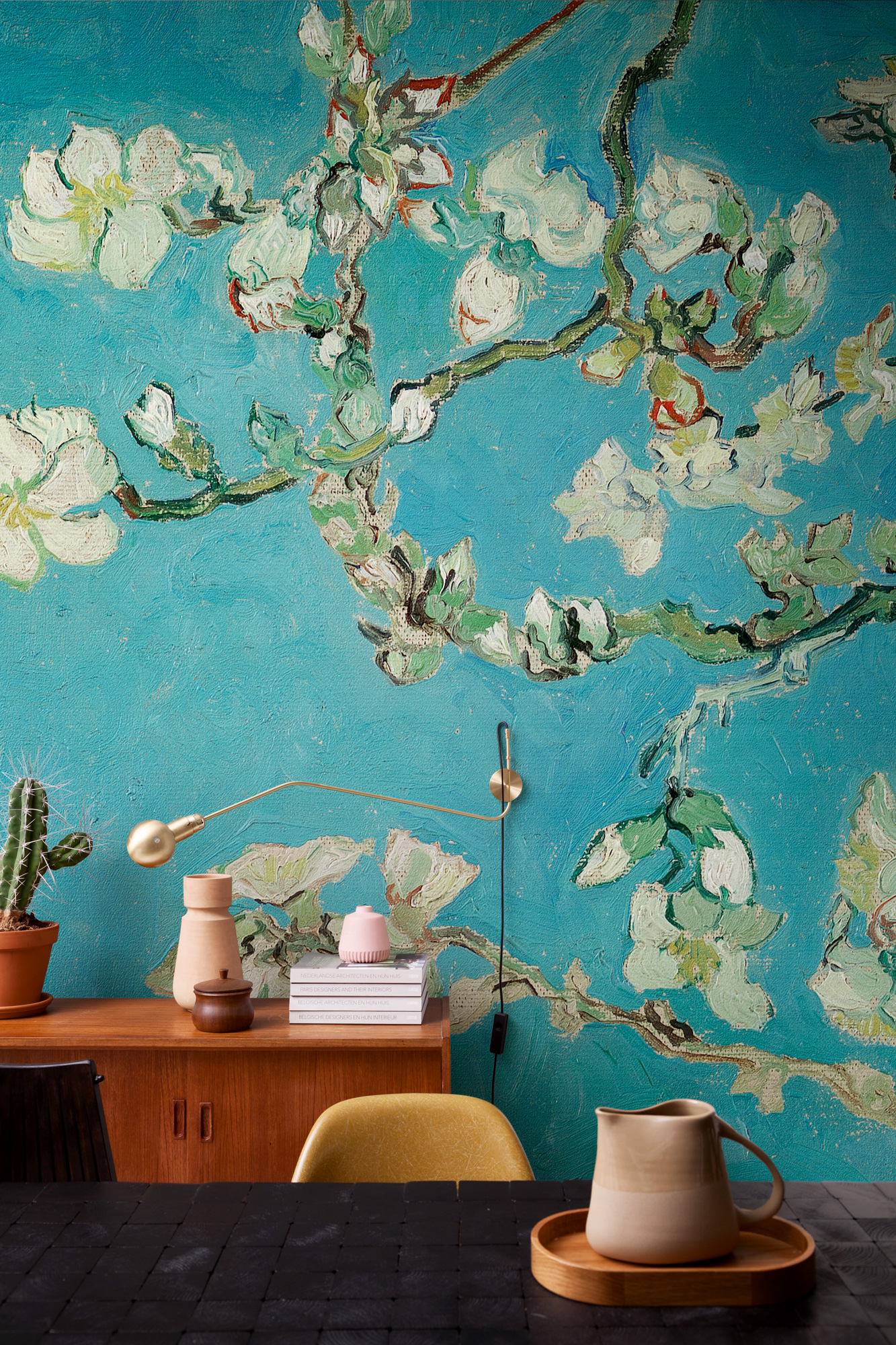 Image of   Almond blossom - Blue