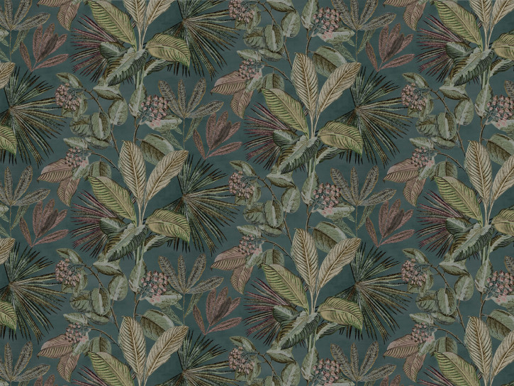 Image of   Colourful Tropics - Dusty Teal