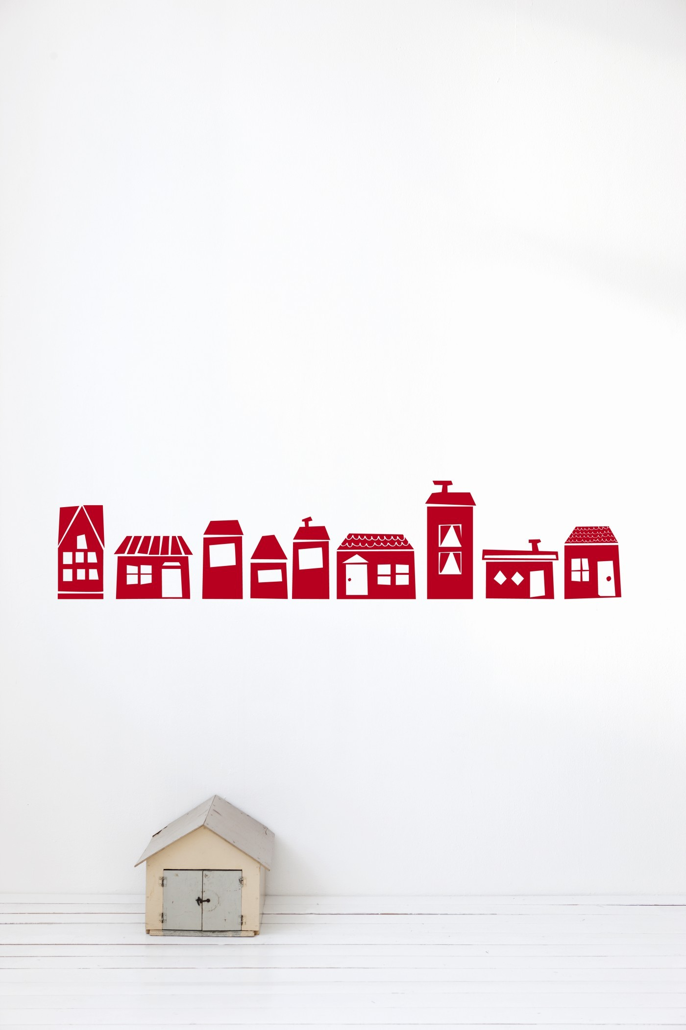 Image of   Ferm Living - The Village - Red