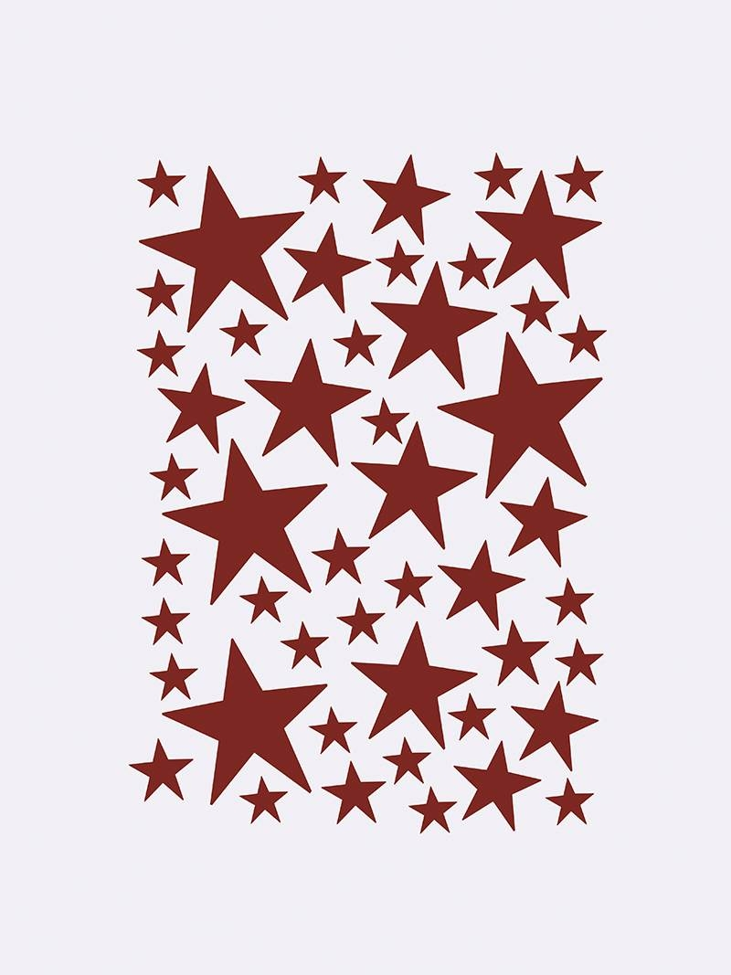 Image of   Mini Stars - Red