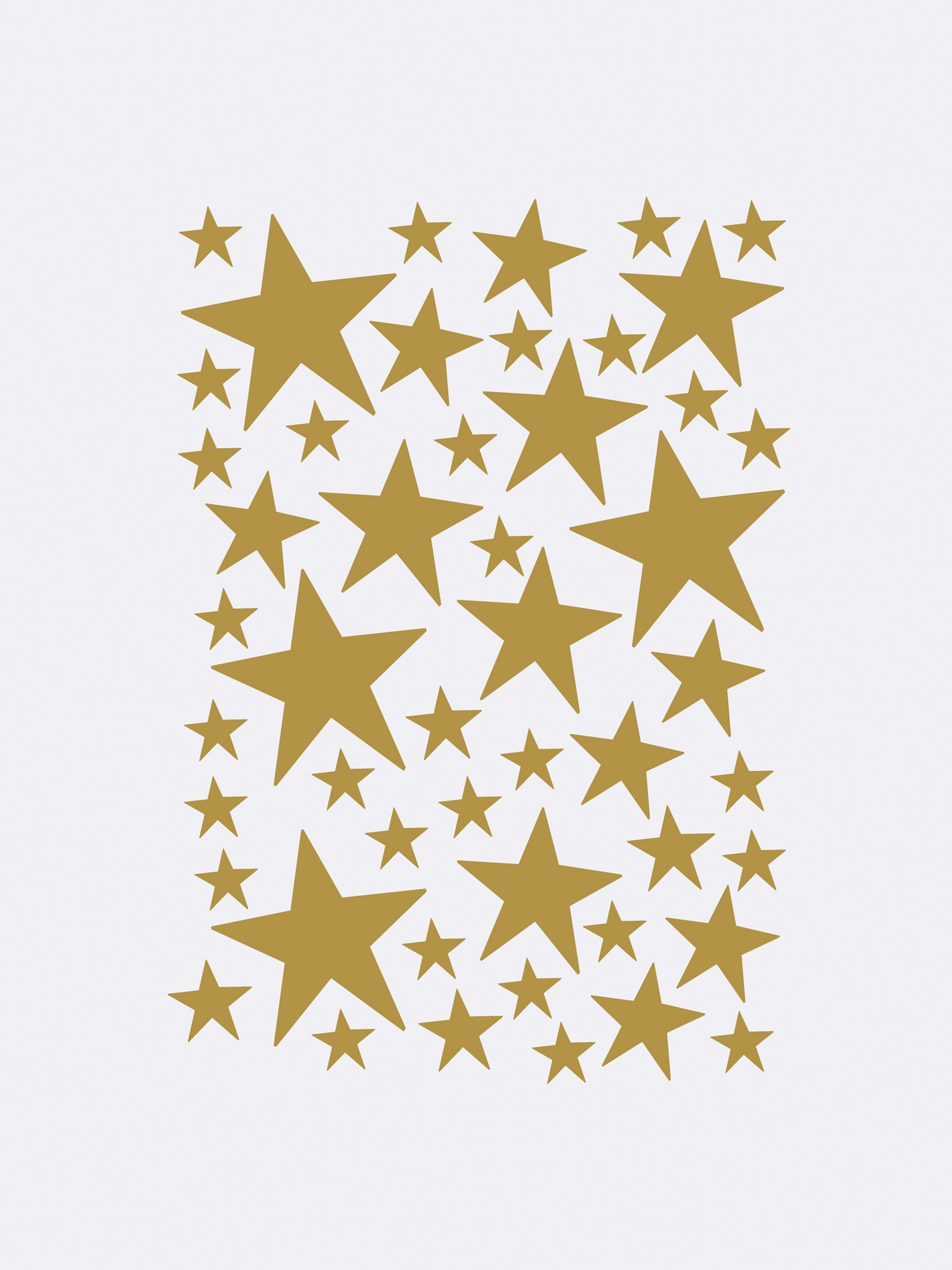 Image of   Mini Stars - Brass