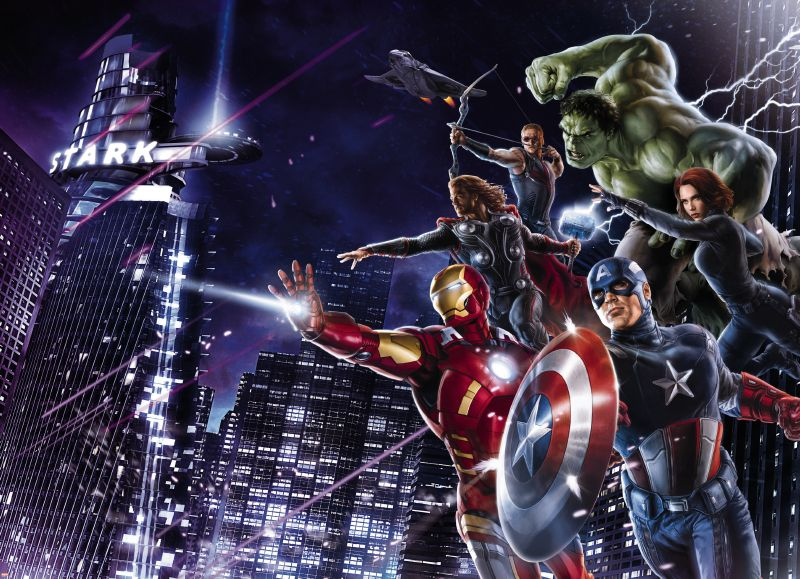 Image of   Avengers Citynight 304-434
