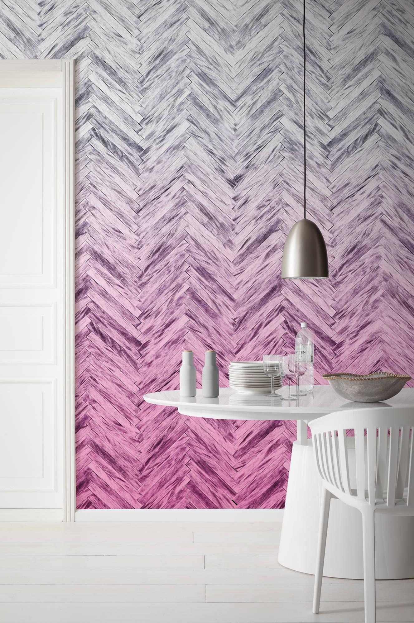 Image of   Herringbone - Pink