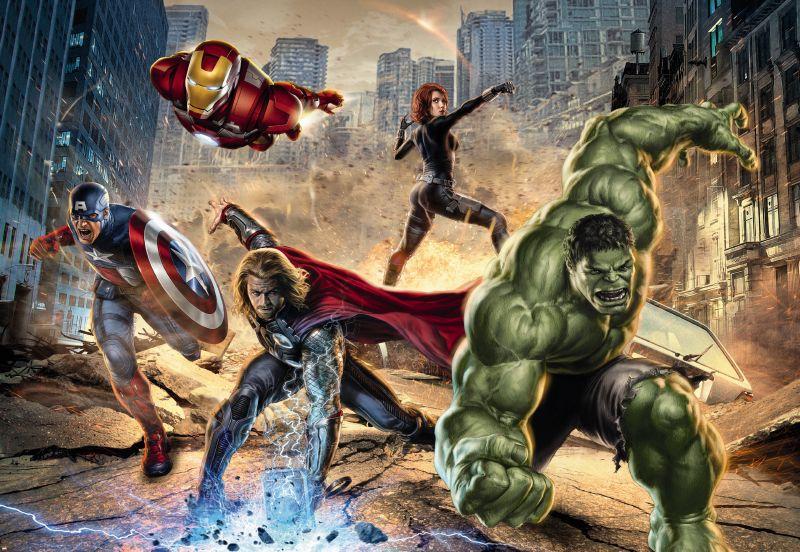 Image of   Avengers Street Rage 308-432