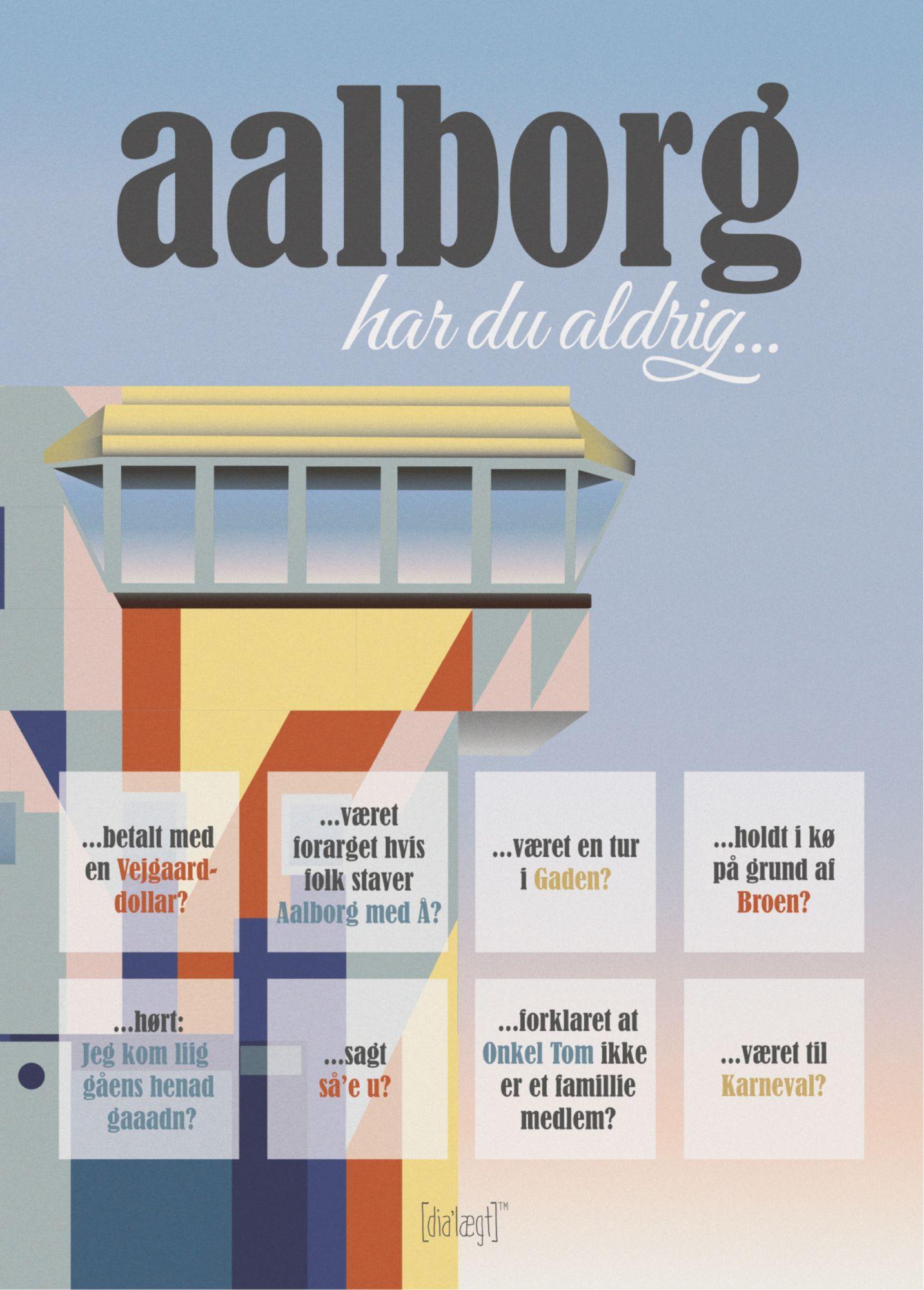 Image of   Aalborg - Har du aldrig?-50 x 70