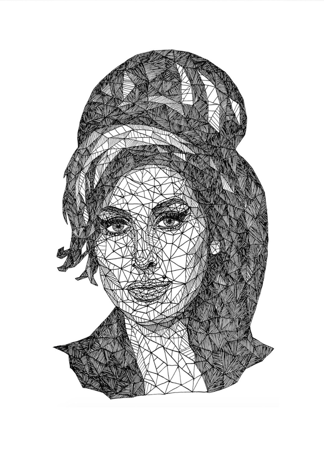 Image of   AMY WINEHOUSE-A3