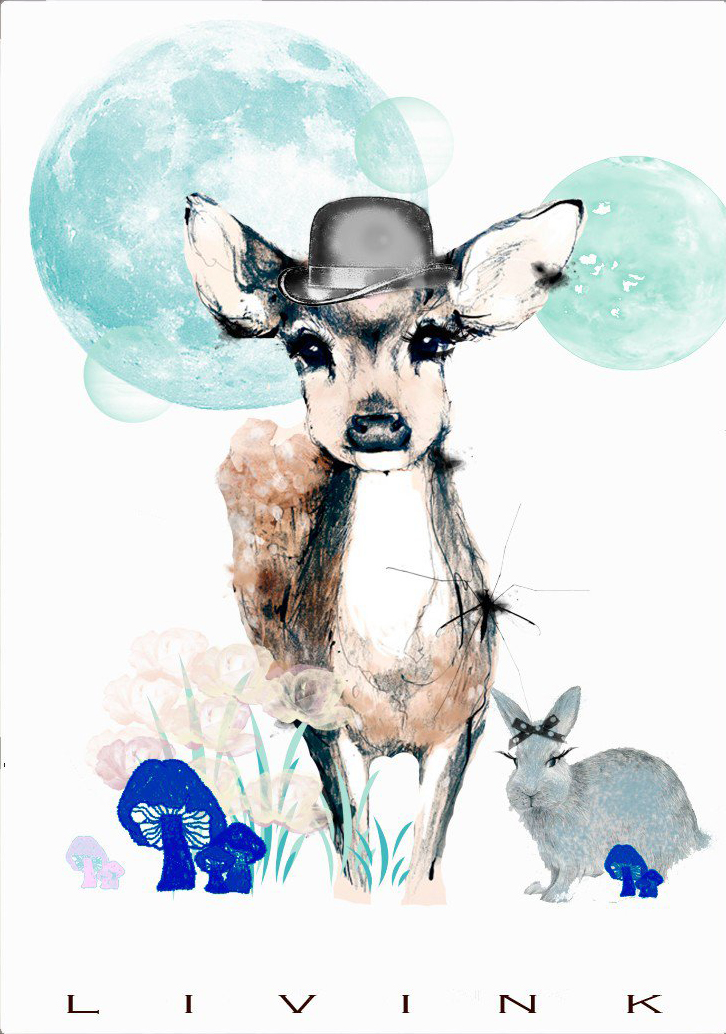 Image of   BAMBI BOY-50 x 70