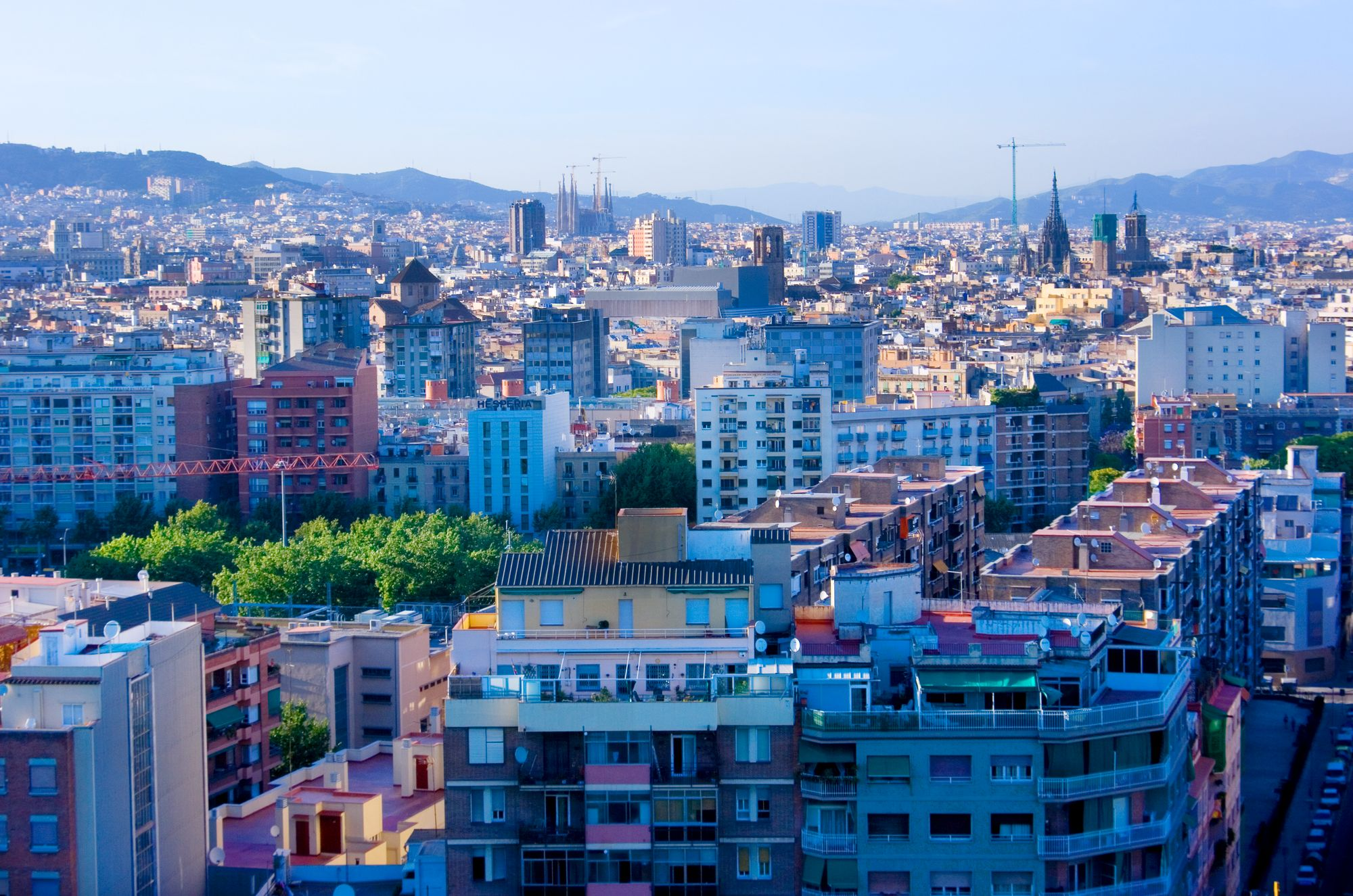 Image of   Barcelona View