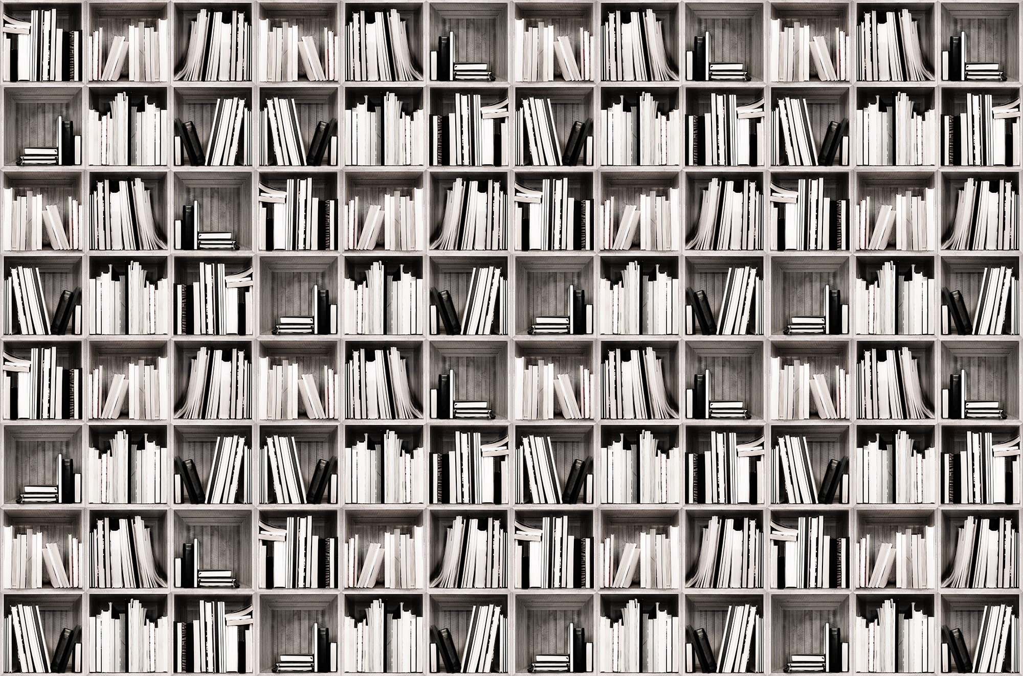 Image of   Bookcase - Warm White