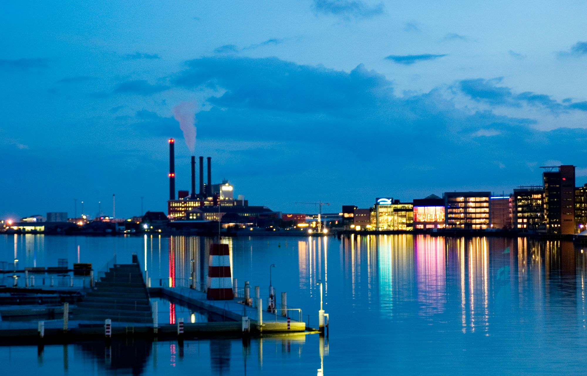 Copenhagen Blue - Fototapet København