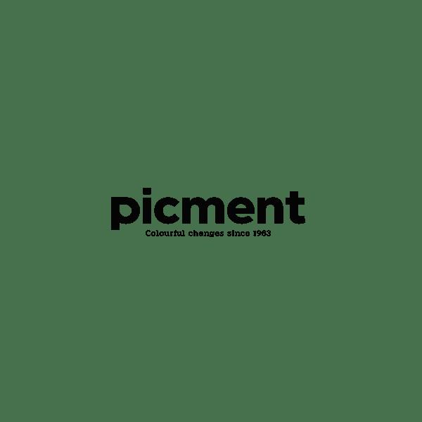 Inspire - Små Blomster - Mørkegrå