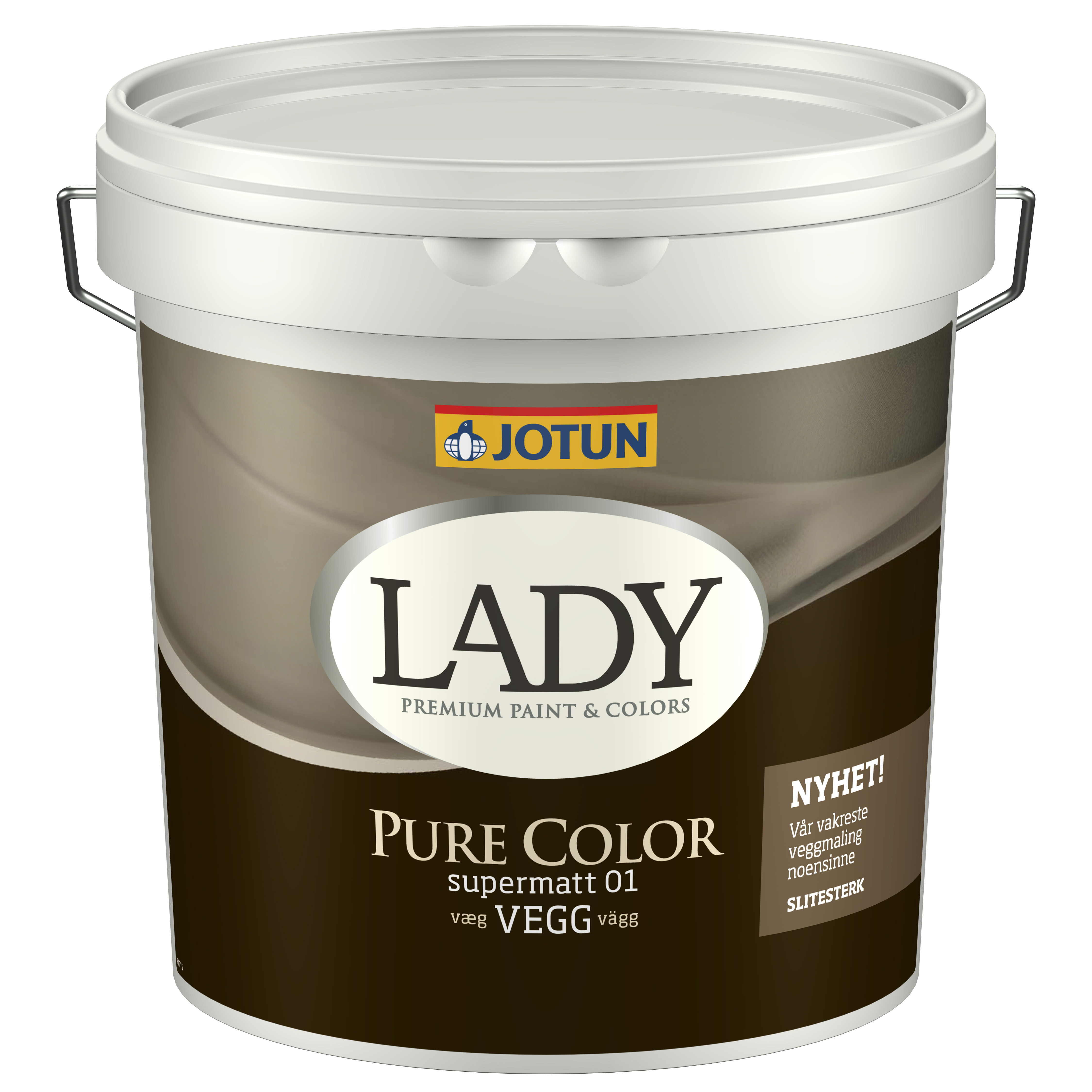 Image of   9 L. Jotun Lady Pure Color - Anden farve - Skriv farvekode i checkout