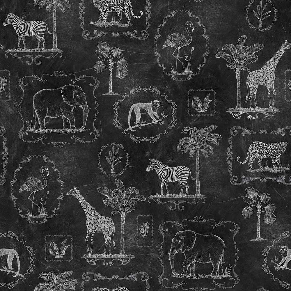 Image of   Animal Party, Blackboard