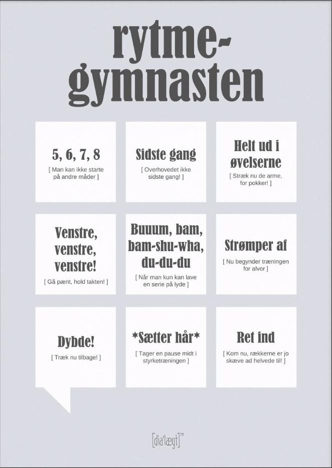 Image of   Rytmegymnasten-A3