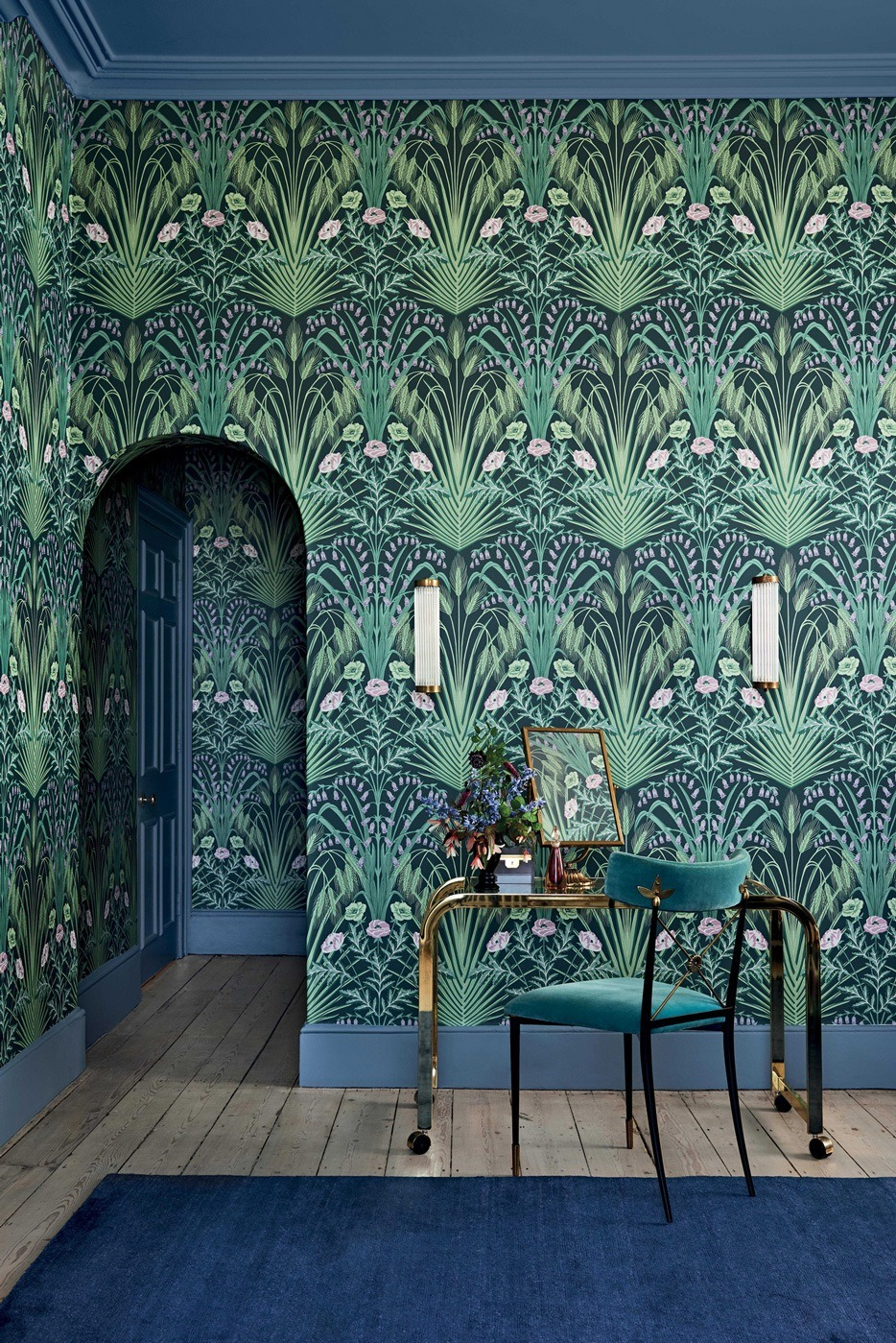 Bluebell - Art Nouveau wallpaper - Cole & Son