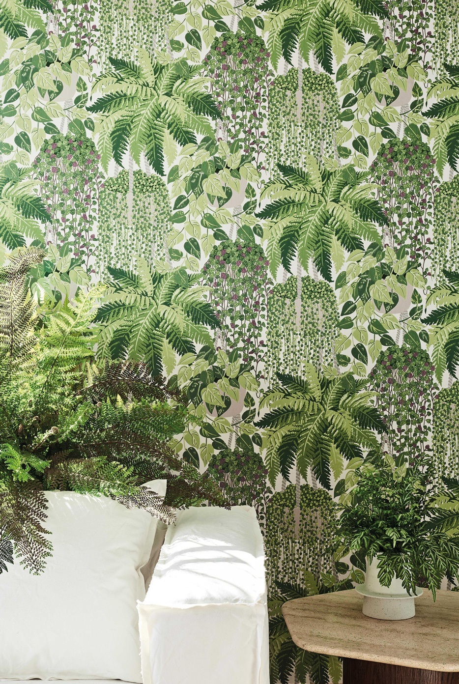 Fern - Flower pattern - Cole & Son Wallpaper