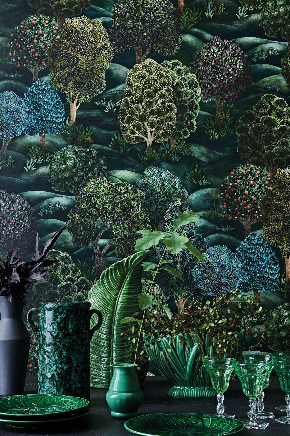 Forest - Hand painted pattern - Cole & Son wallpaper