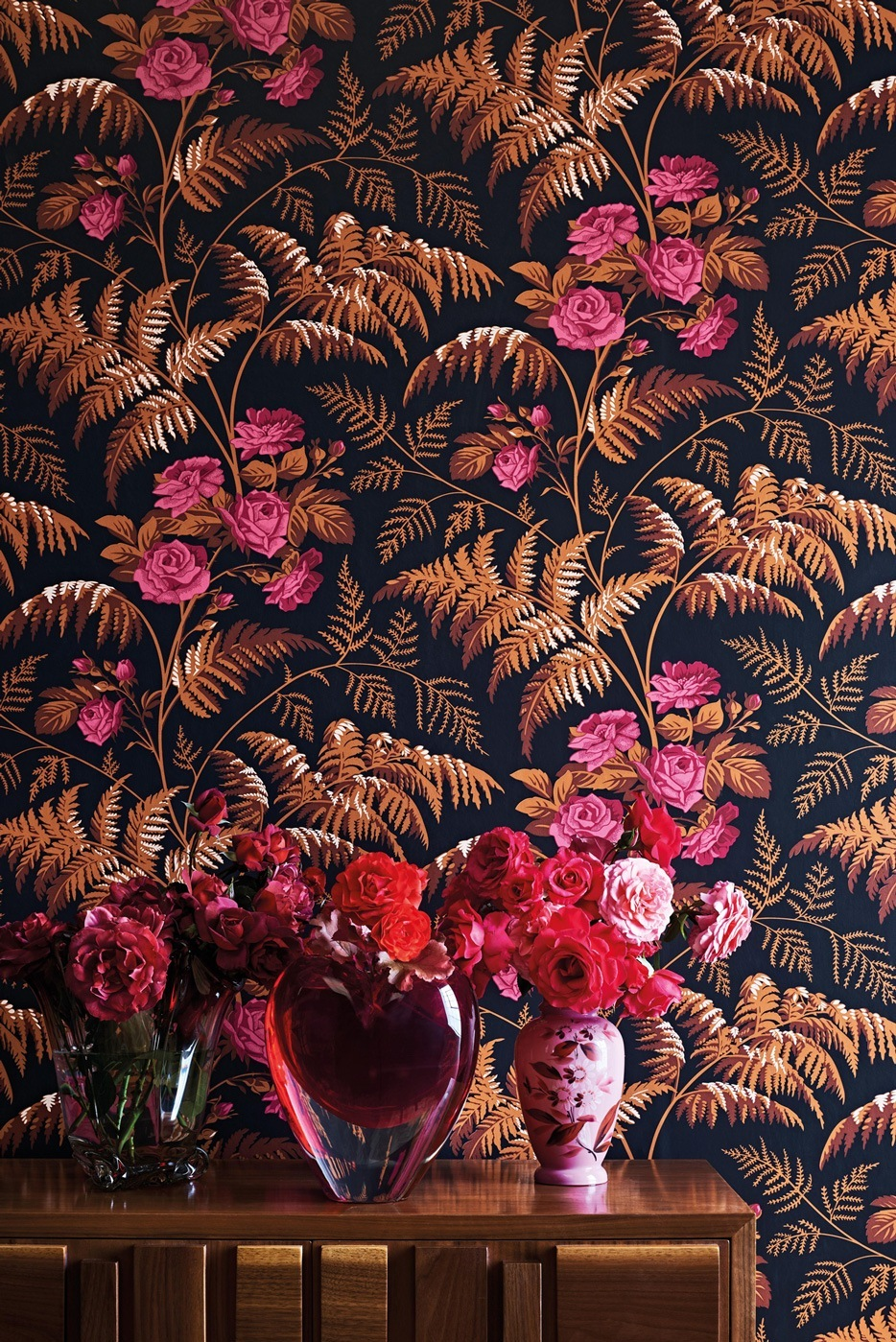 Rose - Flower pattern - Cole & Son Wallpaper