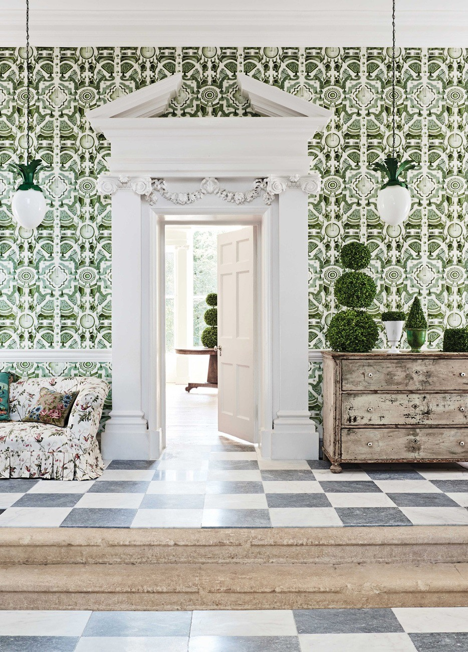 Geometric pattern - Cole & Son Wallpaper