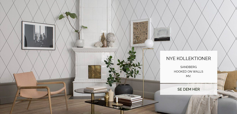 Nye kollektioner i 2017 fra Sandberg, Hooked on walls ofl